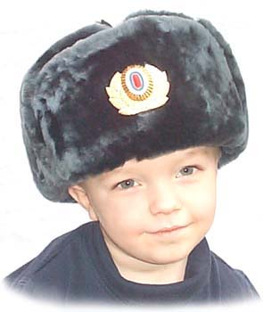 Traditional Russian fur hat with woollen top   folding flaps SOLD OUT cb62e94dacc