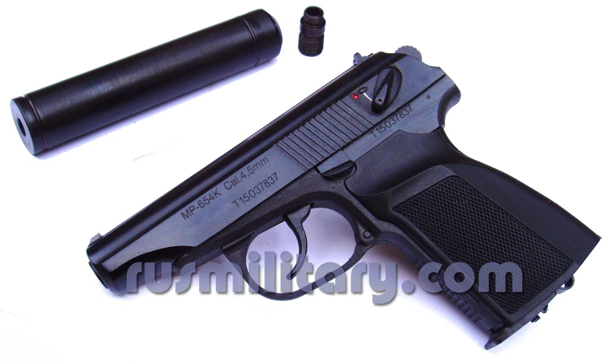 Baikal MP-654K Makarov 177 air pistol